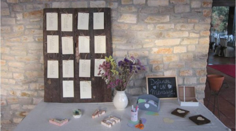 ¡Decora tu boda con tela de arpillera!