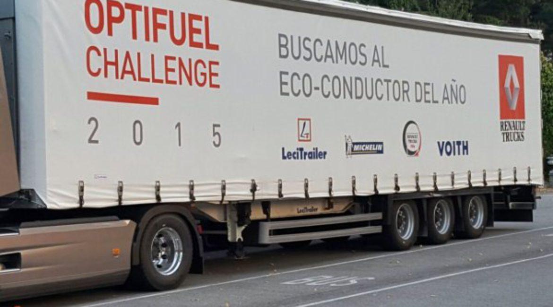 El Mas de Sant Lleí acoge la final nacional del  Optifuel Challenge 2015 de Renault Trucks