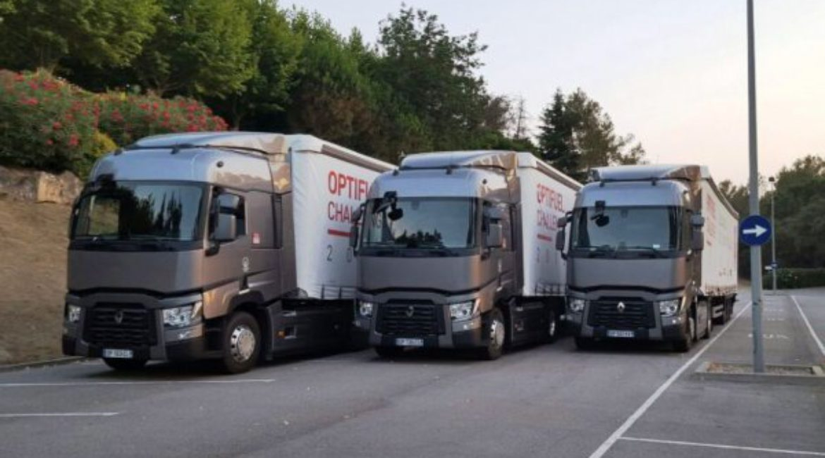 Mas de Sant Lleí host the national final of the Optifuel Challenge 2015 for Renault Trucks