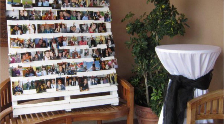 Decorar vuestra boda con fotografías!